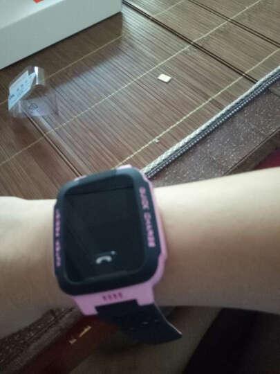 小天才儿童电话手表Y03快充版360度防水GPS定位智能手表 移动2G学生儿童手表手机 男女孩粉黑 晒单图