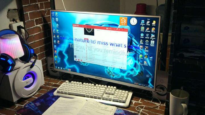 金河田(Golden field) Q8电脑音响多媒体蓝牙音箱电脑家用台式笔记本家用低音炮重低音 白色蓝牙版 晒单图