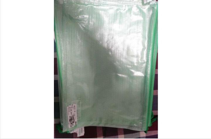 kinbor棉麻文具袋铅笔袋/女款手拿收纳包/学习用品 千鸟格奶咖色DTB6232 晒单图