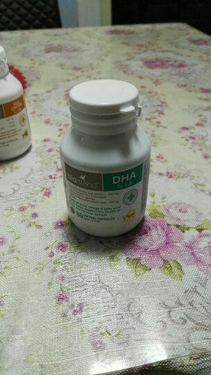 Bio Island 佰澳朗德 比奥岛 婴幼儿DHA海藻油胶囊 60粒 1个月以上 晒单图