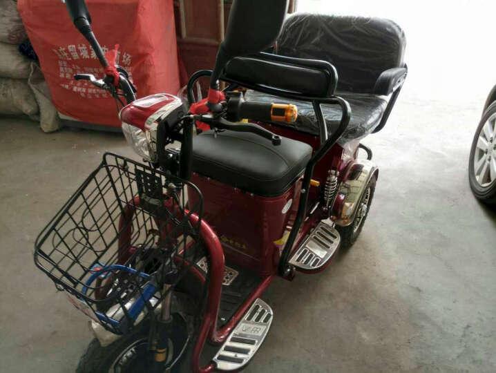 泰合 电动三轮车代步车老年代步车三轮电动车电瓶车助力车 轮毂电机48v12安超威铅酸电池 晒单图
