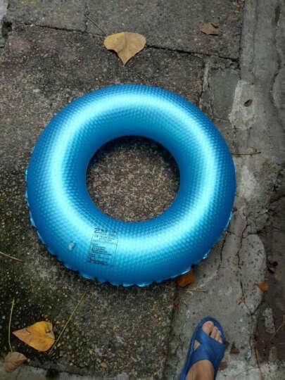 KASITE 游泳圈 成人加厚男女充气大人救生圈 加大儿童腋下圈80泳圈 蓝色KY-03 晒单图