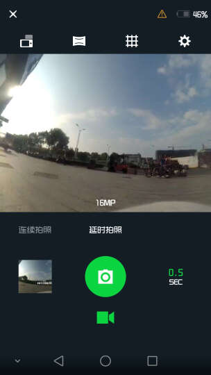 小蚁(YI)运动相机 电池增强版(丛林绿)小米生态链旗下产品 晒单图