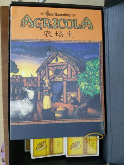 农场主Agricola 高质量中文版桌游 BBG推荐大盒桌面游戏 晒单图