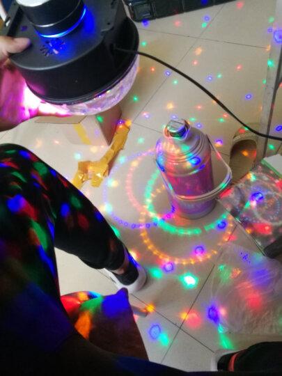 笑耀闪 声控ktv灯光彩灯家用球 带蓝牙酒吧舞台灯光球球七彩旋转灯迪厅灯 七彩声控跳变+自动(无遥控) 晒单图