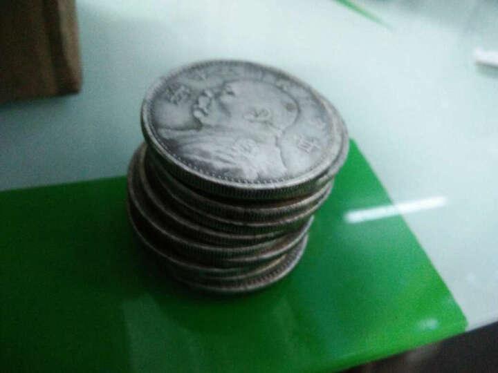 风迅仿古袁大头三年甘肃三年古玩收藏钱币铜钱白铜银元银币 10枚 晒单图