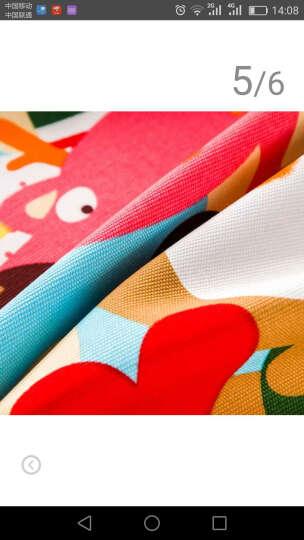 喜欢屋 纯棉桌布田园儿童卡通布艺餐桌布布艺台布 动物世界 140cm*180cm(常用餐桌布) 晒单图