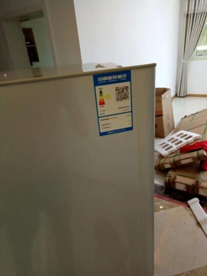 康佳(KONKA)BCD-182TA 182升 两门冰箱 静音节能 快速冷冻 电冰箱 银色 晒单图