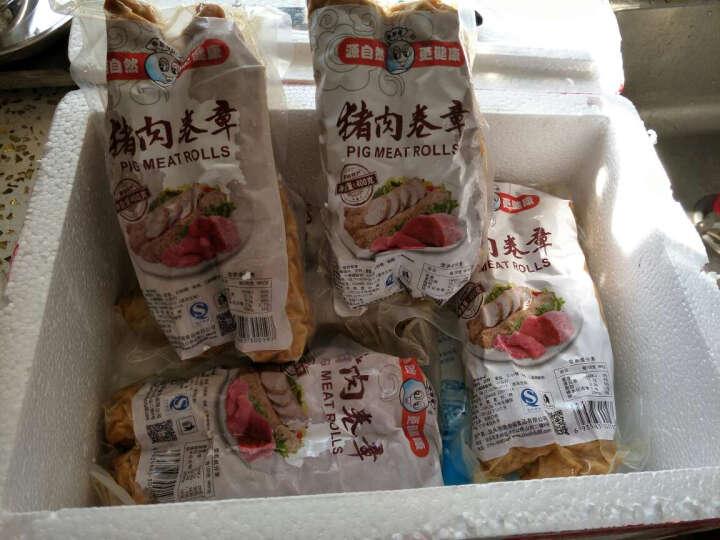 【汕头馆】朱世福 广东潮汕特产 腐皮卷章猪肉饼400g 晒单图