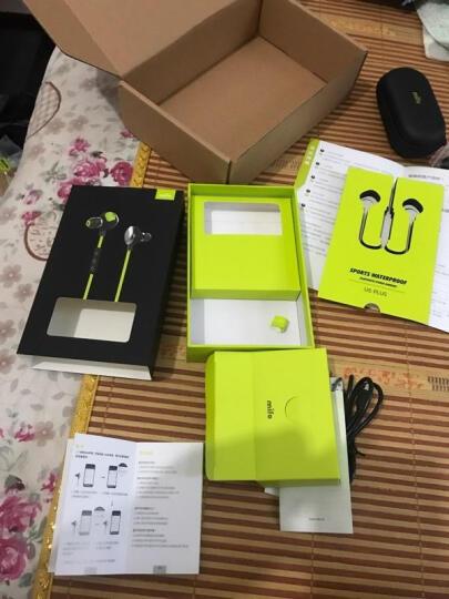 魔浪(morul)U5 智能蓝牙耳机无线音乐耳塞入耳挂耳式双耳立体声跑步运动 柠檬绿 晒单图
