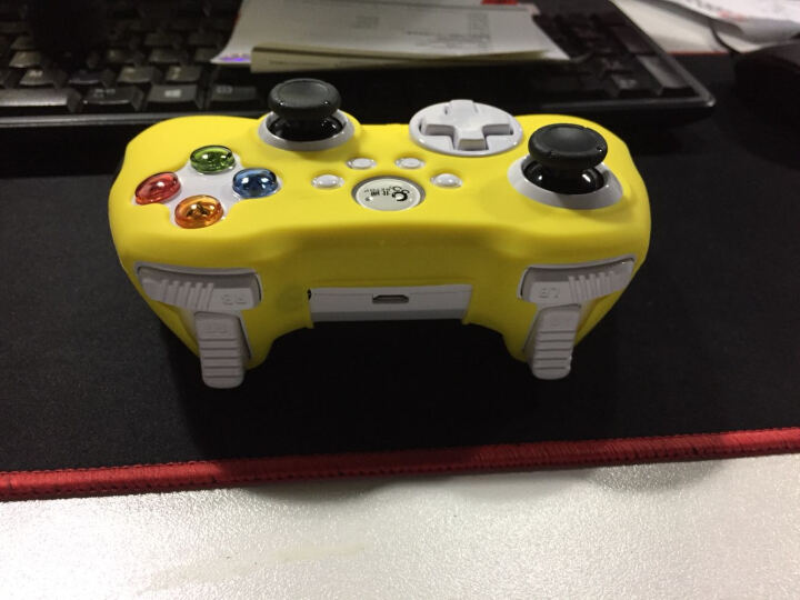 北通(Betop)BTP-1185A 阿修罗2游戏手柄专用硅胶套 黄 晒单图