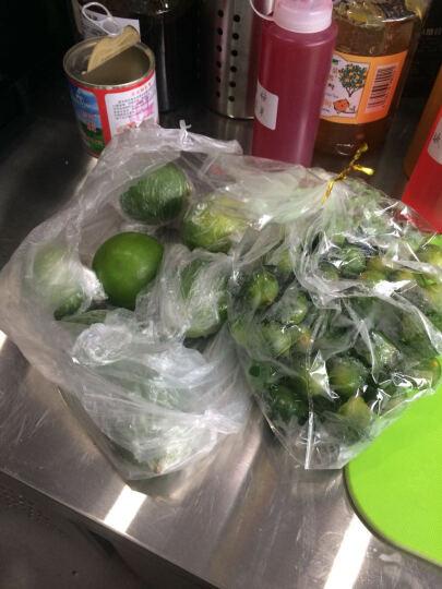 海南热带水果 新鲜小青金桔500g+海南青柠檬500g 晒单图