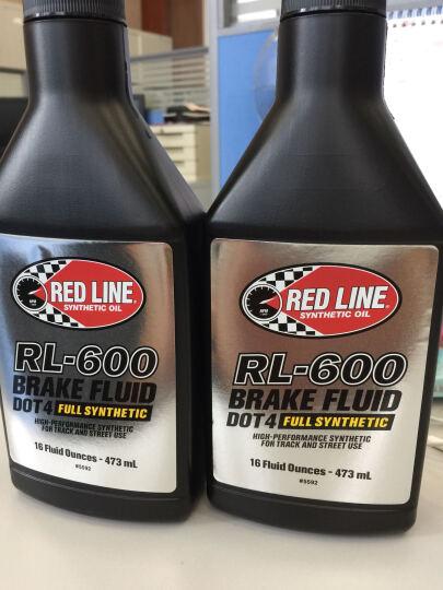 美国原装红线RED LINE全合成刹车油DOT4制动液五类基础油RL-600 晒单图