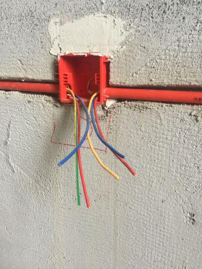 远东电缆(FAR EAST CABLE)BV2.5平方国标家装插座用单芯单股铜芯电线100米 蓝色零线 晒单图