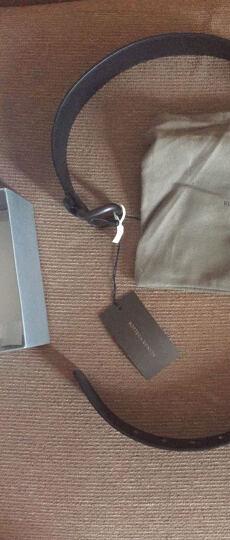 BOTTEGA VENETA 宝缇嘉 黑色牛皮针扣式腰带皮带 173784 V4650 1000 100cm 晒单图