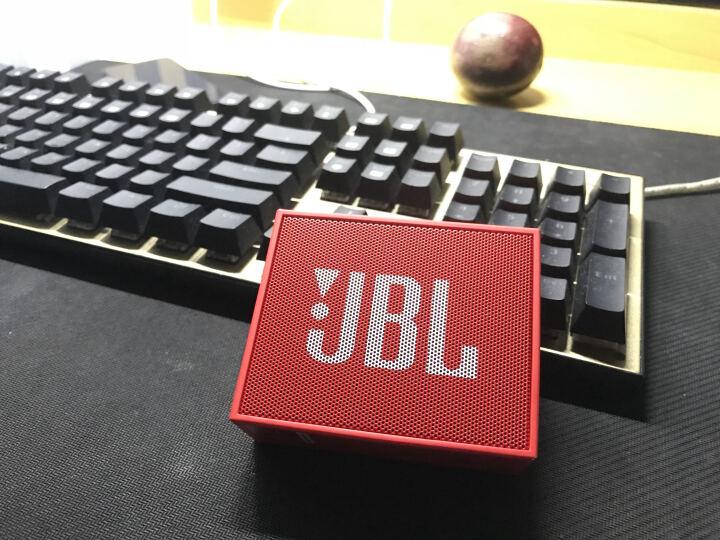 JBL GO 音乐金砖 蓝牙小音箱 音响 低音炮 便携迷你音响 音箱 魂动红 晒单图