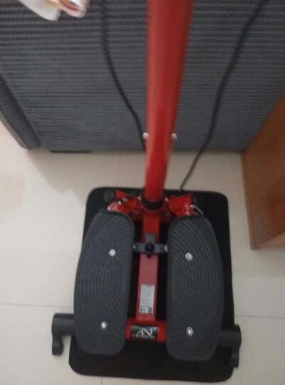 优美斯迷你多功能左右摇摆液压扶手踏步机家用室内运动健身器材脚踏机踩踏机登山机原地踏步机锻炼腿部腰部 红色 晒单图