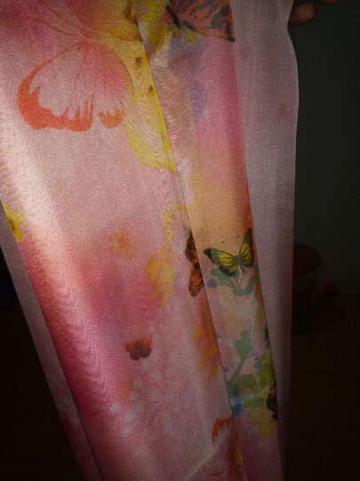 羚羊早安  春夏百搭海滩巾丝巾长款女士雪纺沙滩巾围巾披肩两用 sj117-卡通人物 晒单图