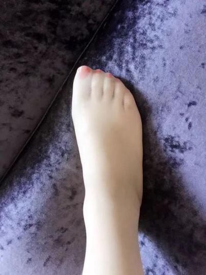 浪莎丝袜连裤袜女超薄包芯丝防勾丝加档丝袜女袜子1条 粉紫-加档款 均码 晒单图