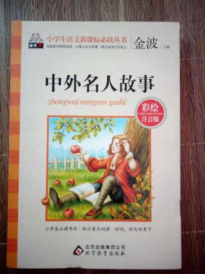 中外名人故事(彩绘注音版)/小学生语文新课标必读丛书 晒单图