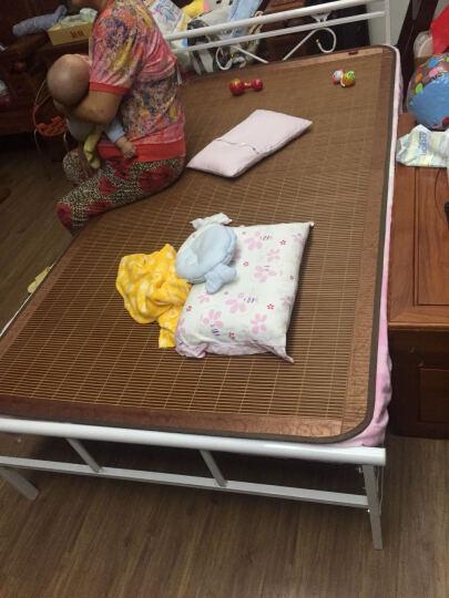 艾多丽 折叠床单人床简易办公室午休午睡床躺椅铁艺钢丝床陪护床 白色 1000*1900 晒单图