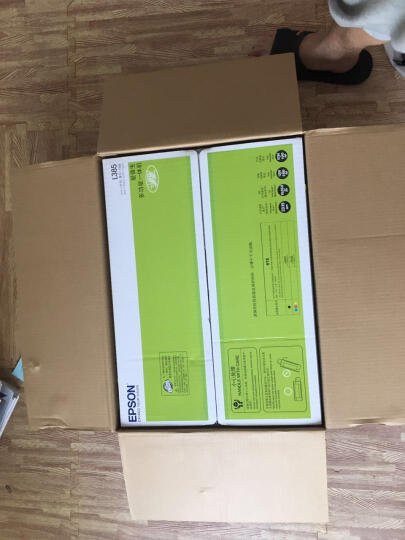 爱普生(EPSON)L385墨仓式无线打印机 家用彩色喷墨一体机(打印 复印 扫描 手机打印 Wifi) 晒单图