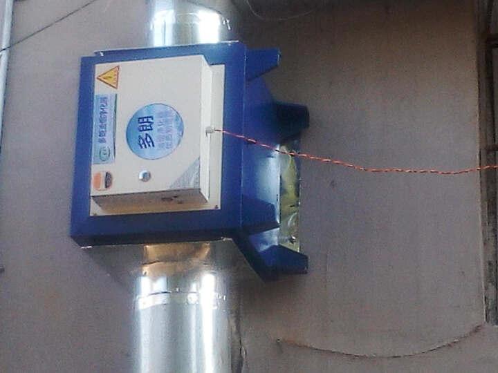 多朗 油烟净化器饭店厨房餐饮酒店 静电油烟分离器 环保 4000风量 晒单图
