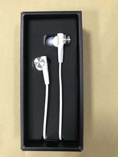 索尼(SONY) MDR-XB50AP 重低音系列 通话耳机兼容多种智能手机 支持iphone 白色 晒单图