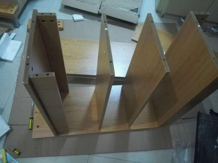 爱尚书亚 酒柜架客厅门厅柜屏风 玄关隔断柜 100cm黄枫木 晒单图