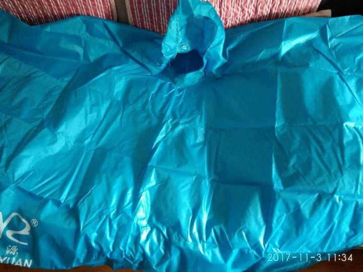 全能量 户外多功能三合一雨衣野营骑行背包雨披徒步轻便防雨罩E1028 蓝色 晒单图