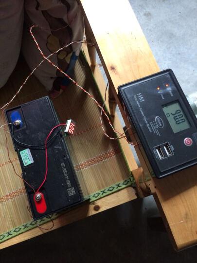 星火20瓦多晶太阳能电池板充12V电瓶20w太阳能板发电板光伏户外专用 晒单图