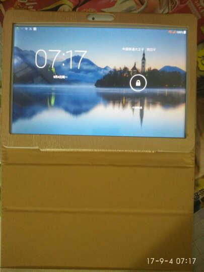 艾电尼 平板电脑10.1英寸八核全网通电信安卓4G通话手机二合一 玫瑰金(64G)送蓝牙键盘+保护皮套+鼠标+九件套 WIFI+全网通版C88 晒单图