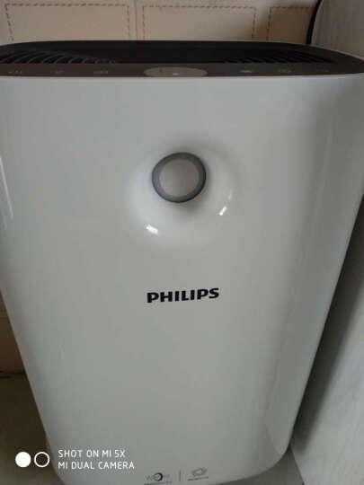 飞利浦(PHILIPS) 空气净化器家用除甲醛花粉卧室智能定时静音氧吧AC2888去烟雾 AC2886白色 晒单图