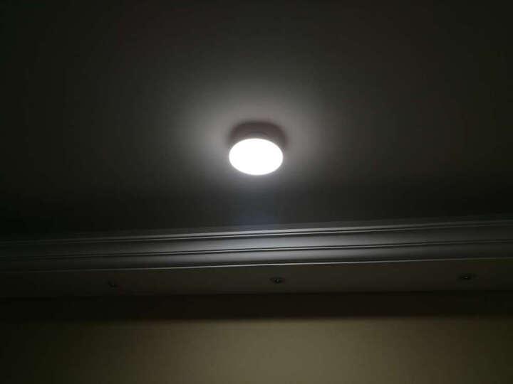 雷士照明led灯泡E27飞碟灯15w20瓦30W大功率衣帽间全白灯 20w暖白光4000K直径20CM 晒单图
