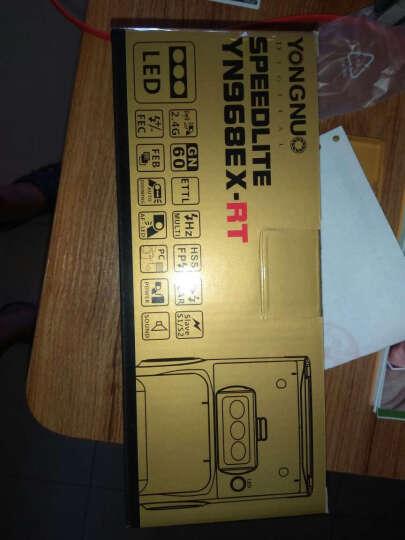 永诺 YN968EX-RT 机顶闪光灯高速同步TTL外拍灯摄影灯兼容佳能5D4等相机 佳能口 晒单图