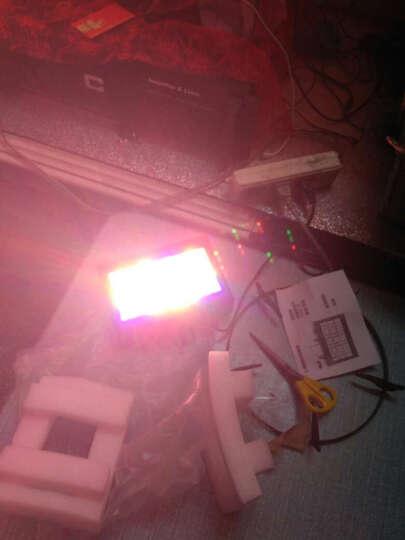 LED全彩声控频闪灯 ktv闪光灯爆闪灯酒吧舞台灯光 白光包房频闪灯 12颗灯珠爆闪灯 晒单图