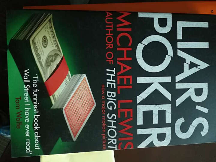 说谎者的扑克牌 英文原版 Liar's Poker  晒单图