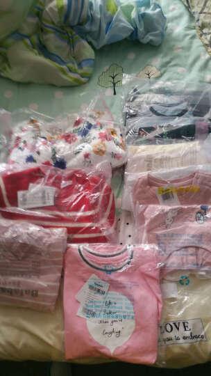 巴拉巴拉童装女童背心女小童宝宝无袖上衣2017夏装新款儿童荷叶边 粉红色 100cm 晒单图