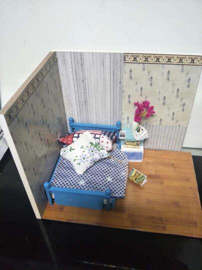 DIY小屋 女孩玩具公主玩具情人节创意礼品玩具diy手工制作模型拼装玩具 天使之梦 晒单图