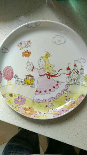 WMF 德国福腾宝 不锈钢卡通儿童餐具6件套餐刀餐叉餐勺陶瓷餐盘碗套装组合 安妮公主 6件套 晒单图