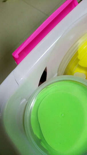 大贸商(DMSbuy)超轻3D彩泥粘土橡皮泥儿童DIY手工制作 24色袋装 送粘土配件 晒单图