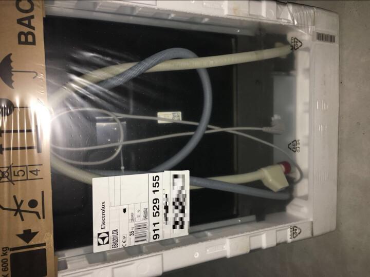 【赠电烤箱】伊莱克斯半嵌入式洗碗机进口多功能家用烘干13套ESI5201LOX 晒单图