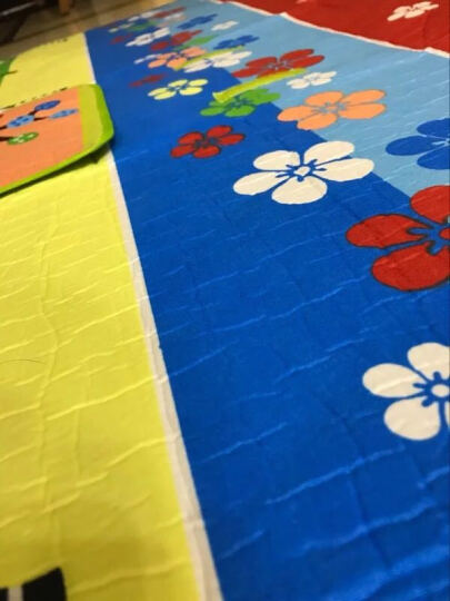 ZAK!200*200cm加厚野餐垫 防潮垫 野餐垫户外 大野餐垫子 帐篷垫 斑马纹zak-x610509 晒单图