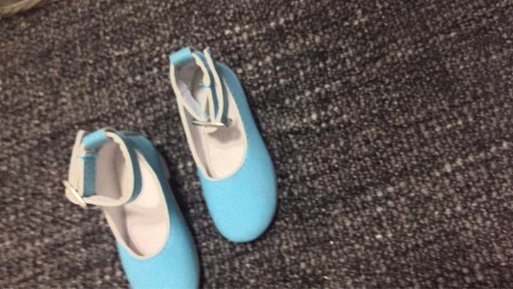 60厘米娃娃鞋子配件三分娃换装运动鞋拖鞋高跟鞋儿童玩具适用三分娃换装女鞋时尚公主鞋子 名媛蓝色中跟鞋 晒单图