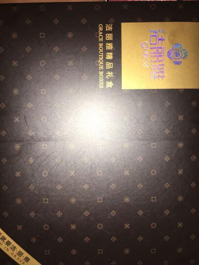 洁丽雅毛巾 纯棉毛巾礼盒装 舒适经典条纹绣花2条装团购福利 中秋节礼品【送拎袋】 B款商务礼盒 两件套 晒单图
