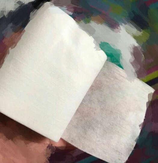 【王俊凯同款】全棉时代 便携式纯棉柔巾卷 小包化妆棉卸妆棉9*12cm 70节/袋 晒单图