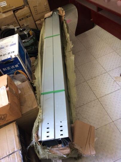 凤图布线 200*100*1.0mm电缆镀锌桥架线槽 定制金属强弱电桥架 垂直走线槽 镀锌 200*100*1.0 晒单图