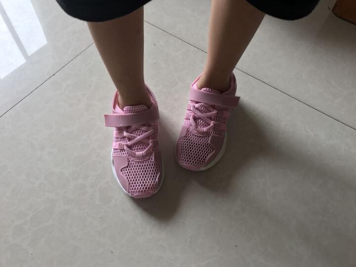 木木兔2017初秋新款女童鞋儿童运动鞋子透气单网学步鞋男童鞋 紫色 29 适合18.5cm脚长 晒单图