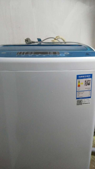 海尔(Haier)EB80M2WD  8公斤 全自动波轮洗衣机 3年质保 智能模糊控制 晒单图