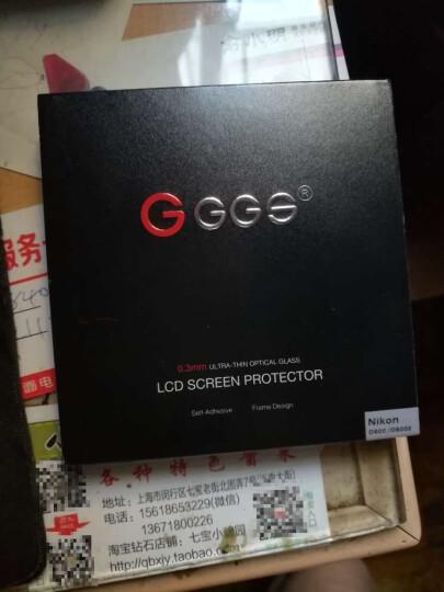 金钢(GGS)尼康 D800/D800E贴膜 相机贴膜 单反相机钢化膜 金钢膜 相机屏幕保护膜 晒单图